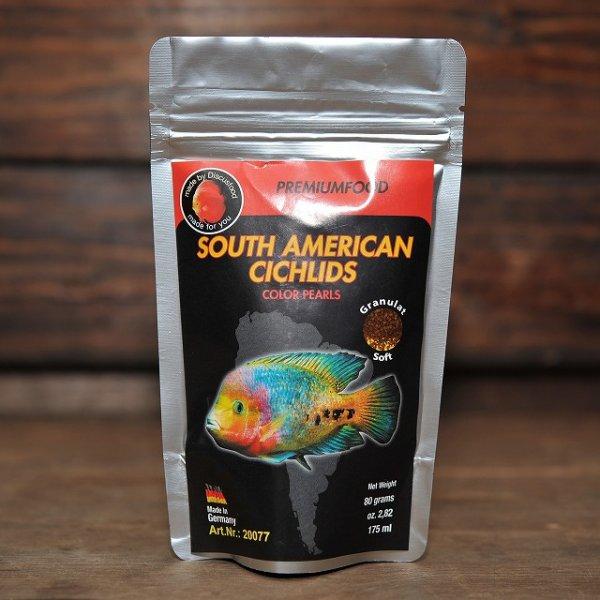画像1: South American Cichlids南米シクリッド・カラー【赤揚げ半生タイプ】 80g