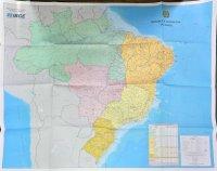 IBCE 官製ブラジル全土地図
