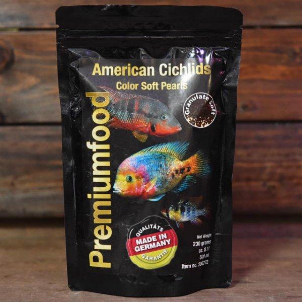 画像1: South American Cichlids南米シクリッド・カラー【赤揚げ半生タイプ】 230g