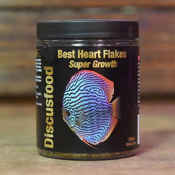 画像1: ベスト ハート フレークス スーパーグロウス Best Heart Flakes Super Growth 【育成用フレーク】