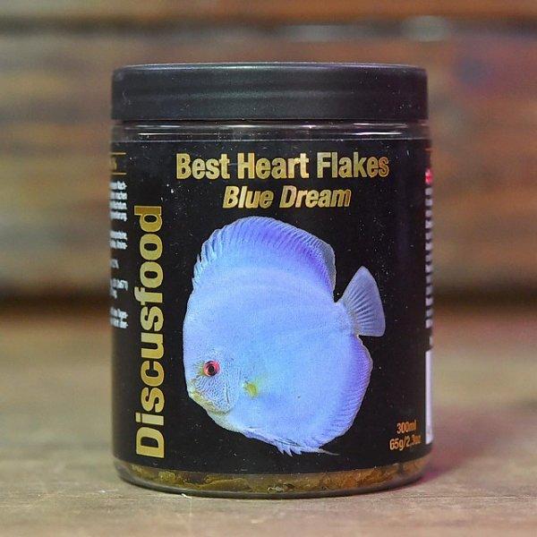 画像1: ベスト ハート フレークス ブルードリーム Best Heart Flakes Blue Dream【青色揚げ用フレーク】