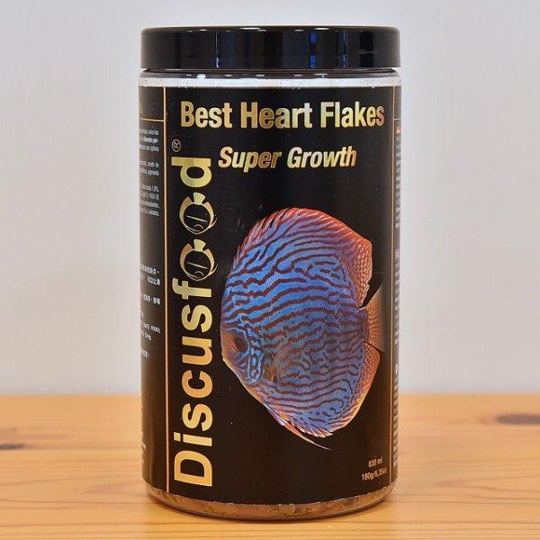画像1: ベスト ハート フレークス スーパーグロウス Best Heart Flakes Super Growth 【育成用フレーク】180g